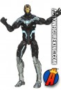 Marvel Universe 3.75 Black and White Iron Man action figure.