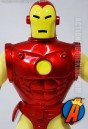 Toybiz presents this Famous Cover Series Silver-Age style Iron Man figure with authentic outfit.