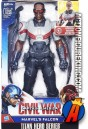 MARVEL Titan Hero Series Electronic FALCON action figure from Hasbro.