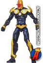 Fully articualted Marvel Universe 3.75 inch Nova action figure from Hasbro.