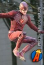 The new CW Flash suit is definitely looking a little devilish and not as heroic as it should.