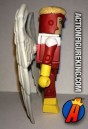 Side view of this Marvel Minimates Angel figure.