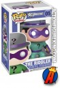 A packaged sample of this Funko Pop Heroes Riddler figure.