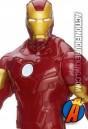 Sixth-scale Titan Hero Series Iron Man action figure from Hasbro.