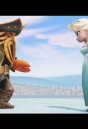 DAVY JONES VS ELSA - EPIC FIGHT - Disney Infinity