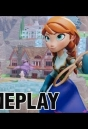 Disney Infinity Frozen ANNA Gameplay Commentary